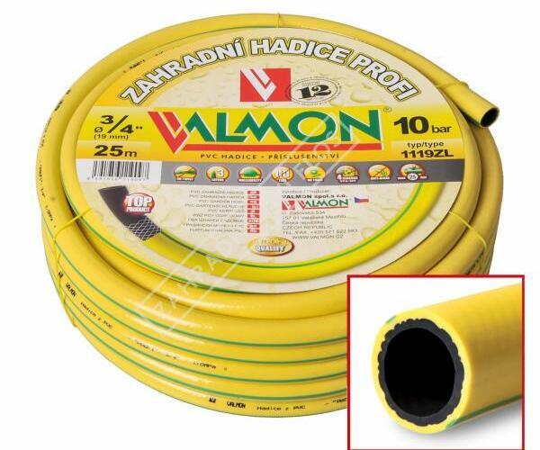 """Zahradní PVC hadice """"PROFI"""", 25 m, žlutá - Zahradní PVC hadice """"PROFI"""", 25 m, žlutá"""