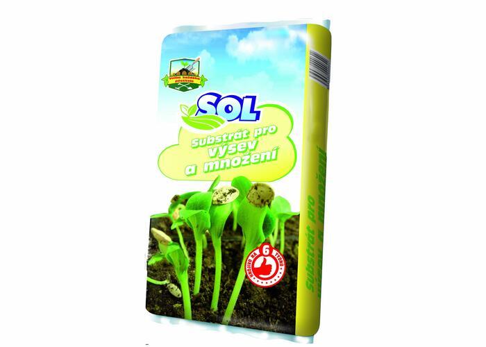 Substrát SOL pro výsev a množení
