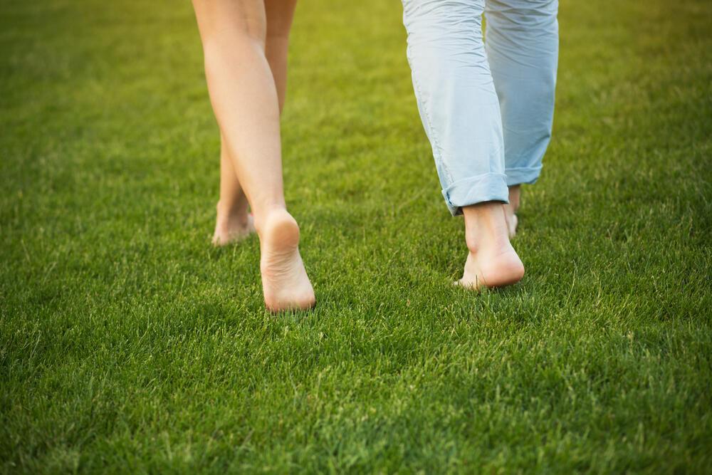 pocitovka bosé nohy